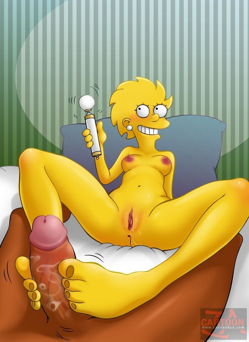 Lisa Simpson foot fetish supreme