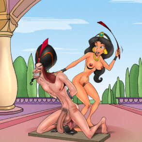 Femdom Scandal Cover-Up: Princess Jasmine and Jafar