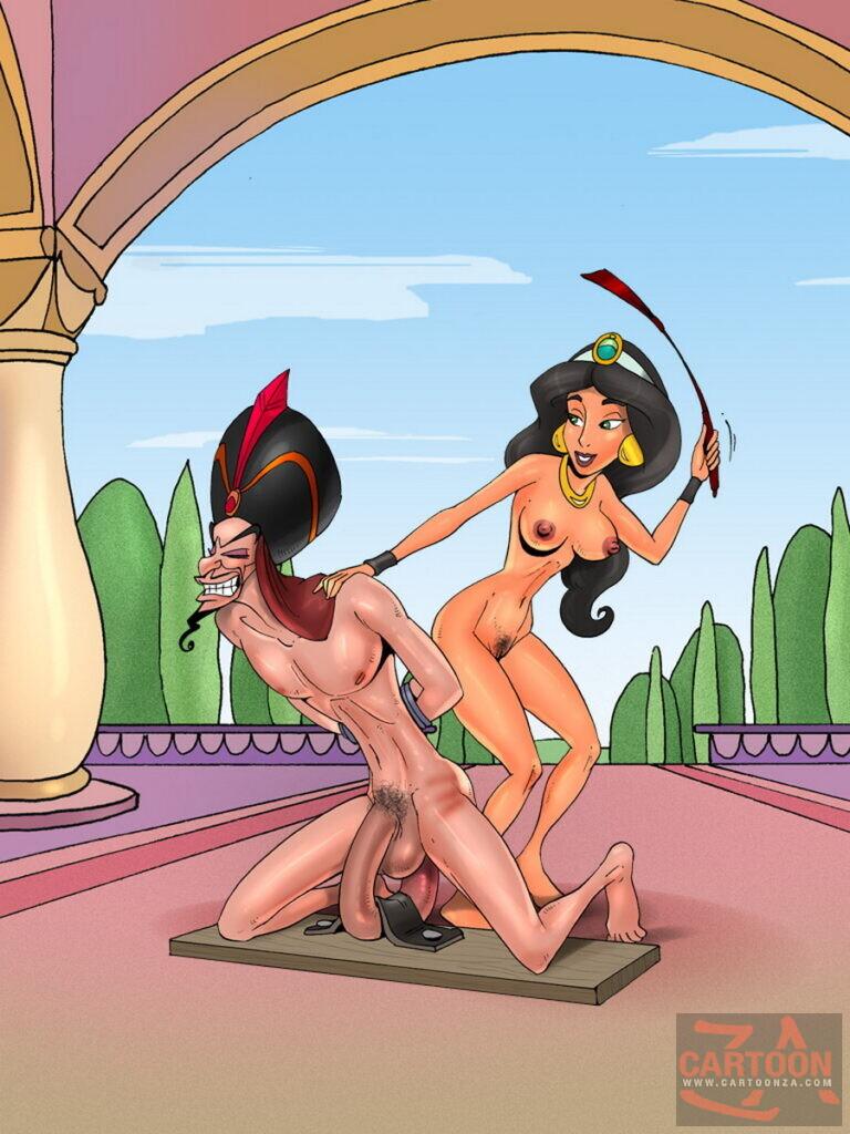 Femdom Scandal Cover-Up: Princess Jasmine and Jafar