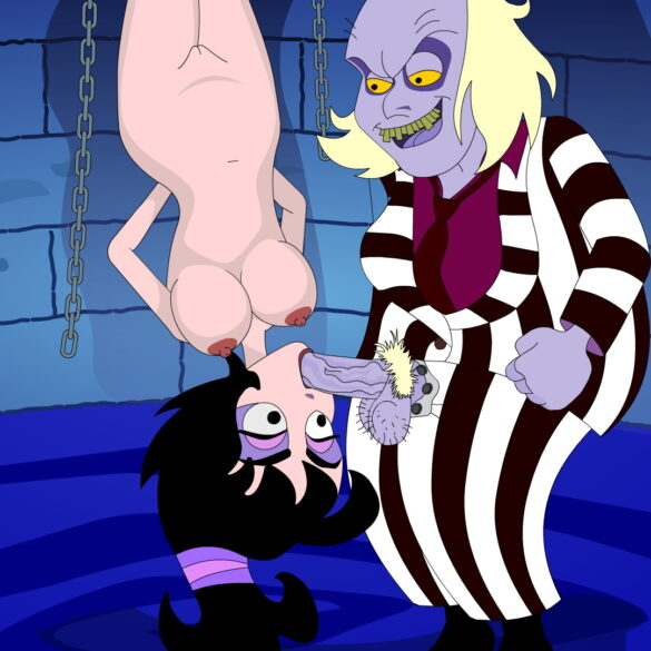 A Leaked BDSM Video of Lydia Deetz and Beetlejuice