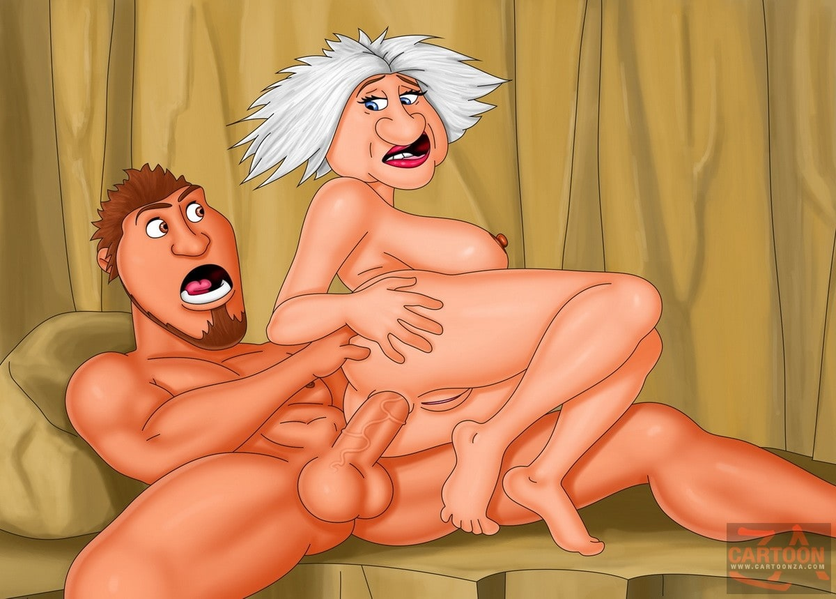 Gran from The Croods Enjoys Anal