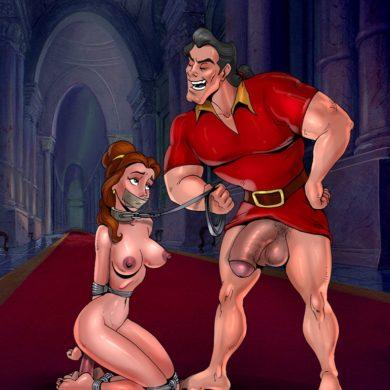 Belle has been banging Gaston
