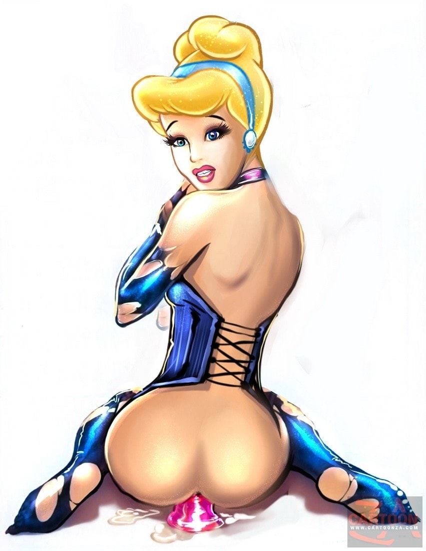Cinderella riding dildos