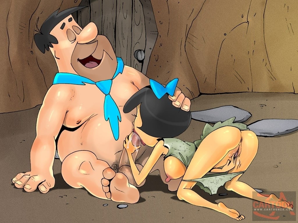 Betty Rubble Bangs Fred Flintstone