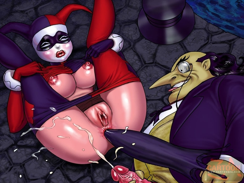 The Penguin Fucks Harley Quinn's Ass