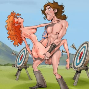 Princess Merida Banged by Young Macintosh