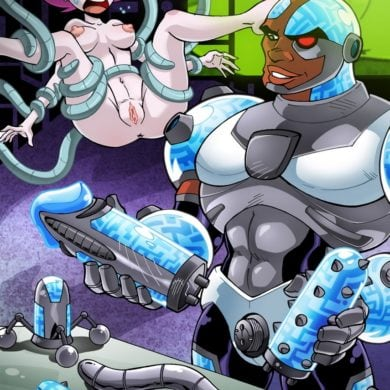 Cyborg Is Ready to Fuck Jinx