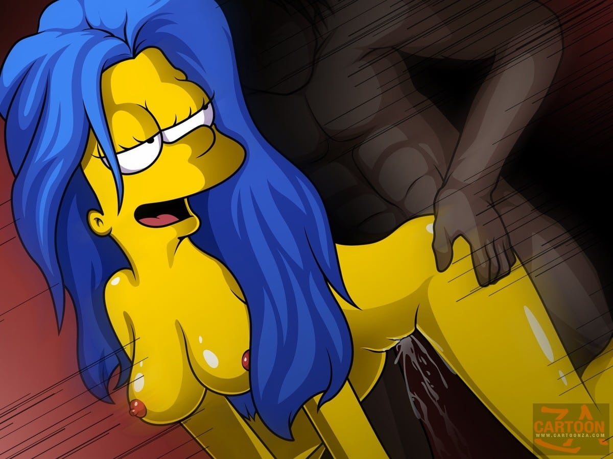 Marge Simpson Loves Interracial Sex