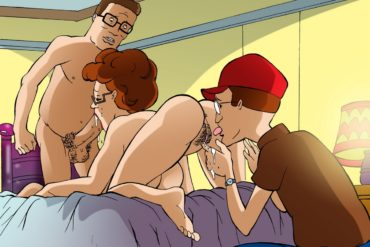 Peggy Hill Loves Threesomes