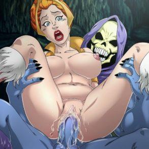 Busty Blonde She-Ra Boned by Skeletor
