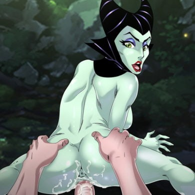 Maleficent Rides Cock in Cowgirl