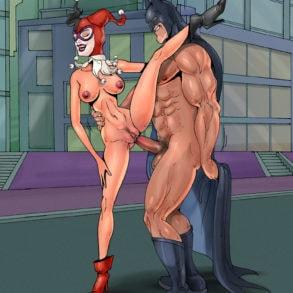 Harley Quinn Banged in Public