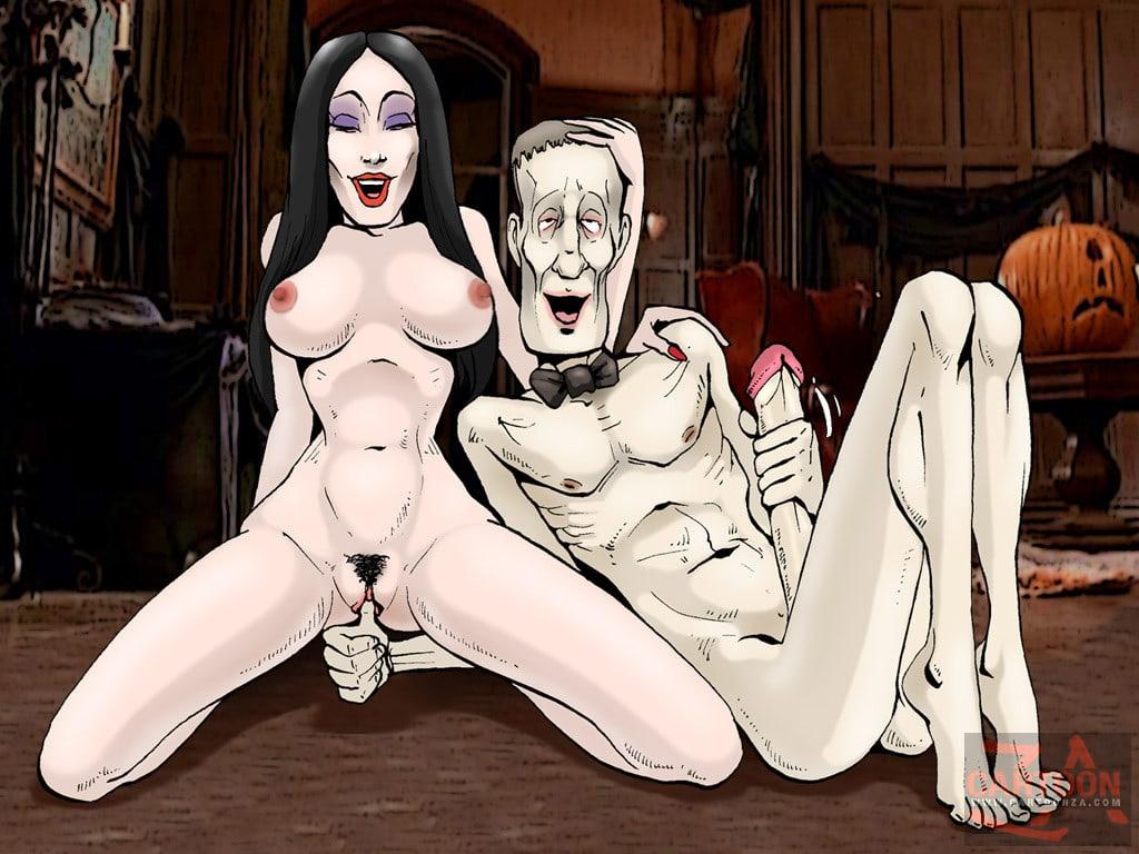 Порно Онлайн Семейка Аддамс