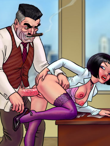 Betty Brant, sex with newspaper owner