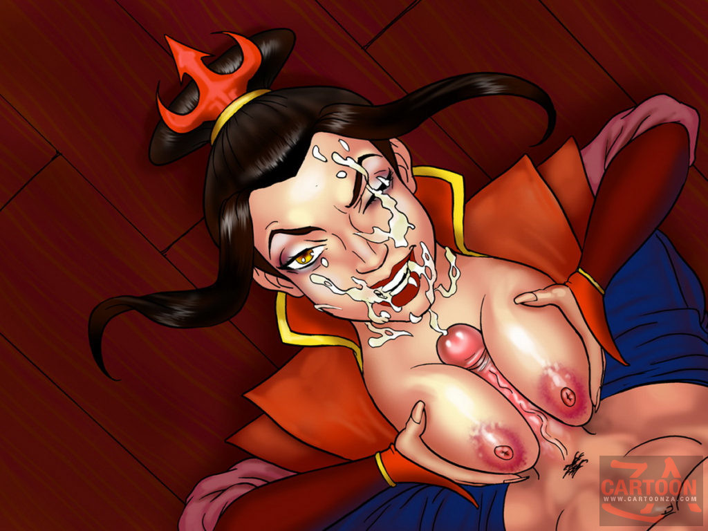 Princess Azula and Her Insane Night Life